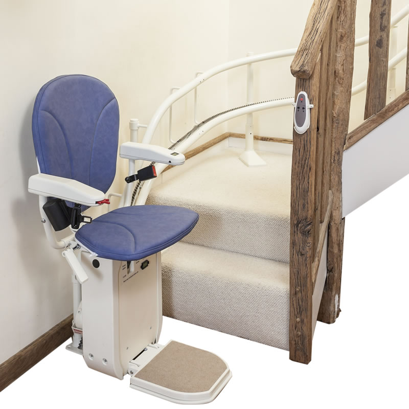 Curved Stair Lift Example